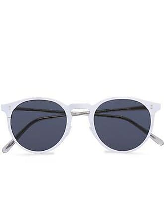 09836a0f82 Oliver Peoples Oliver Peoples Woman Round-frame Coated-metal And Acetate  Sunglasses Off-