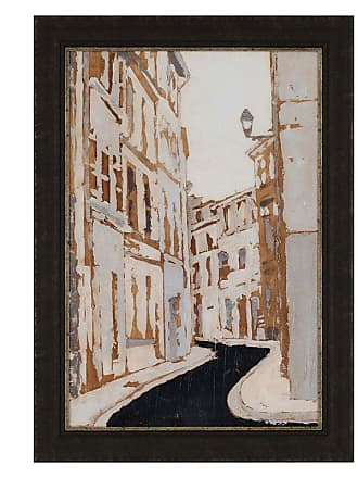 Paragon Picture Gallery Streets of Paris II Framed Wall Art - 7208