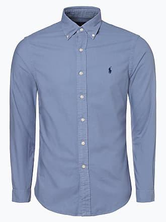 61154528c05bc5 Polo Ralph Lauren Herren Hemd - Slim Fit blau