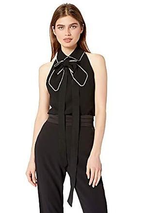6bd9639466f310 Trina Turk Womens Festive Embellished Bow Sleeveless Top