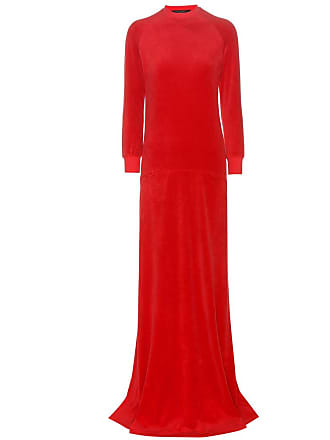 9e20d22e78 VETEMENTS X Juicy Couture velour maxi dress