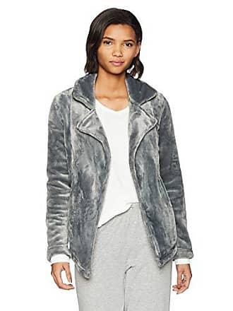 PJ Salvage Womens Luxe Jacket, Grey, s