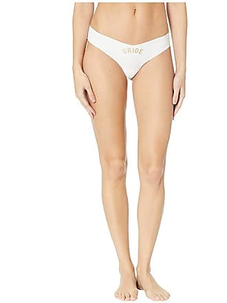 8be5f4c96236 Commando Solid Thong w/ Applique CT09 (White/Bride) Womens Underwear