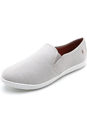 Santa Lolla Slip On Santa Lolla Liso Cinza