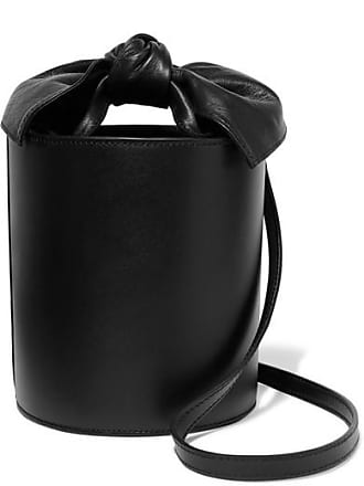 Ulla Johnson Sophie Mini Leather Bucket Bag - Black