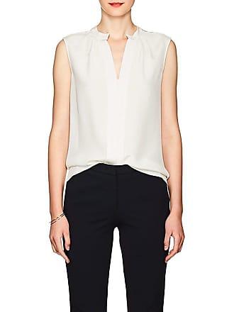 0a9fda2d0d502 Derek Lam Womens Kara Silk Blouse - White Size 40 IT