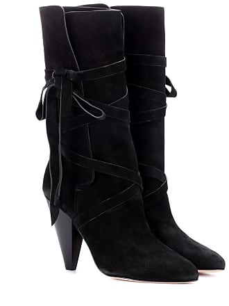 Veronica Beard Hall suede boots
