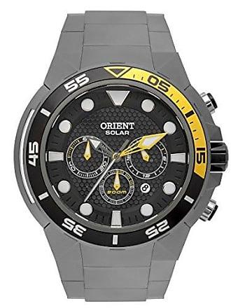 Orient Relógio Orient Seatech Solar Titânio Cronógrafo Analógico Masculino Diver;s MBTTC014 P1GX