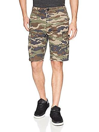 O'Neill Mens 21 Inch Outseam Cargo Pocket Classic Walk Short, Camo/Campbell, 34