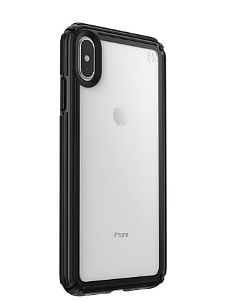 SPECK Max Presidio V-Grip Clear/Black iPhone XS Case