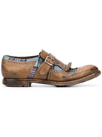 c3e6f56ae4d58 Churchs tartan panel loafers - Brown