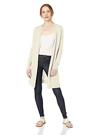 Daily Ritual Womens Lightweight Duster Cardigan, Beige, XX-Large