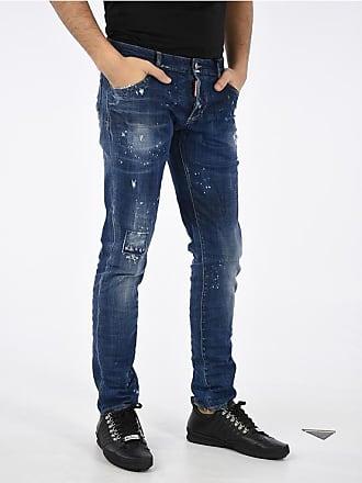 Dsquared2 17cm Stretch Denim SLIM Jeans Größe 54 1d9c2fa9a99d