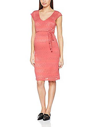 4978b3c14453b2 Mama Licious Dames jurk mlcabrini Cap Lace Above Knee Dress - cocktail 42  (fabrieksmaat