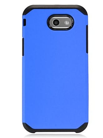 Mundaze Blue Slim Double Case For Samsung Galaxy J3 Emerge 2017/Express Prime 2