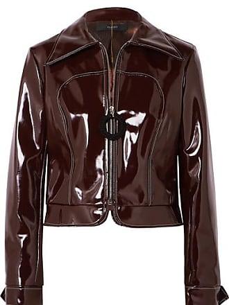 Ellery Vinyl Jacket - Brown