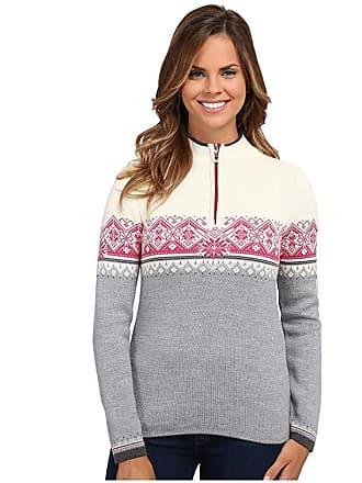 Dale of Norway Moritz Feminine (Grey Mel/Schiefer/Off White/Allium) Womens Sweater