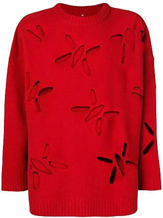 OAMC cut-out detailed jumper - Vermelho
