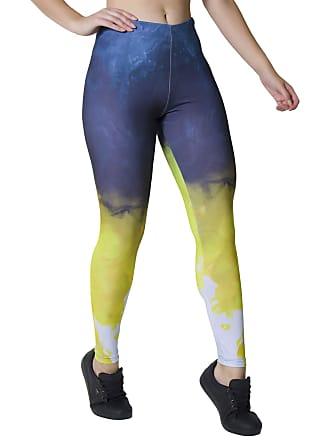 Kaisan Calça Feminina Legging Sublimada Color Smoke