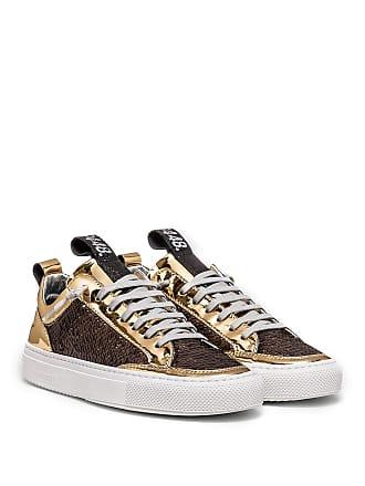 P448 Soho Sequin Leather Sneaker