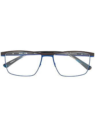 Etnia Barcelona Armação de óculos retangular - Preto