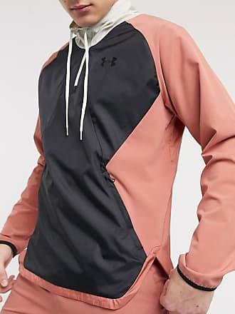 Under Armour Giacca da allenamento stretch rosa con zip corta