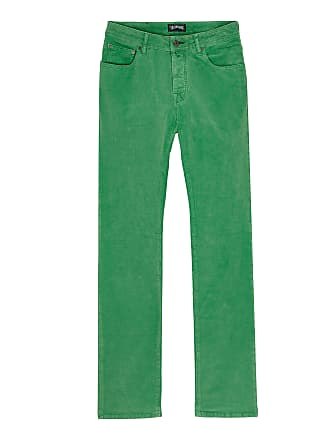 Vilebrequin Men Ready to Wear - Men regular fit velvet pants - JEANS - GBETTA18 - Green - 36 - Vilebrequin