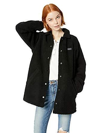 Obey Juniors Covert Sherpa Jacket, Black, Medium