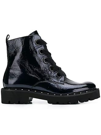 Kennel & Schmenger Ankle boot de couro com cadarço - Azul