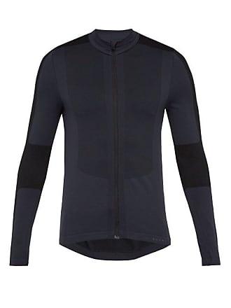Falke Zip Through Technical Jersey Top - Mens - Black