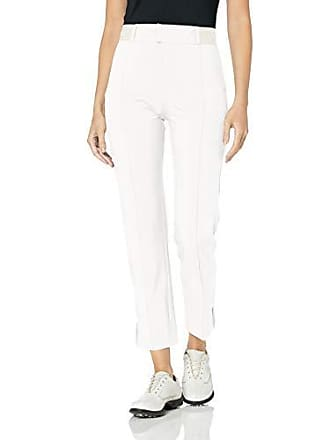 J.Lindeberg Womens Cropped Micro Stretch Pant, White, 28