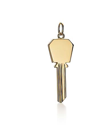 17b015c90 Tiffany & Co. Tiffany Keys modern keys hexagon key pendant in 18ct gold,  small