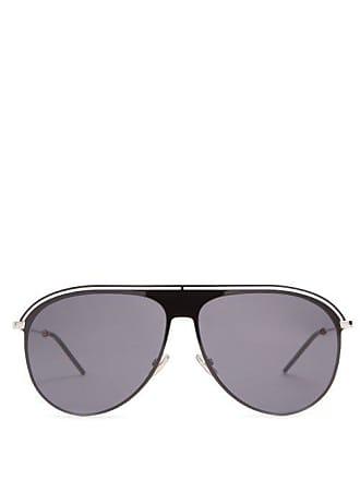 Lunettes Dior Aviator Metal Sunglasses - Mens - Black