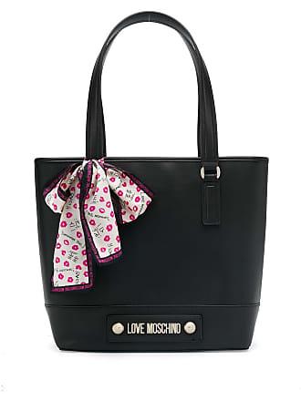 Love Moschino logo shopper tote - Preto