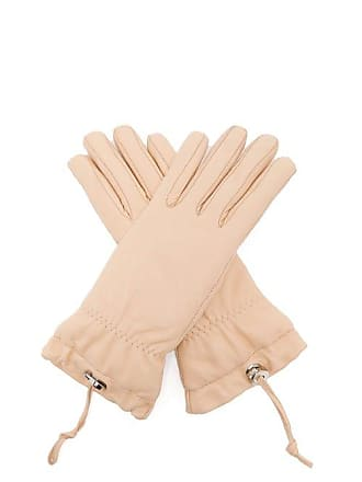 Jil Sander Padded Leather Gloves - Womens - Pink