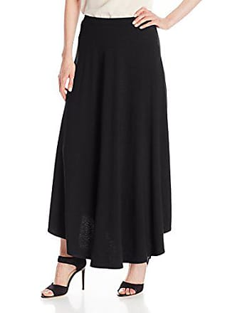 Only Hearts Womens So Fine Shirttail Skirt Long, Black, X-Small
