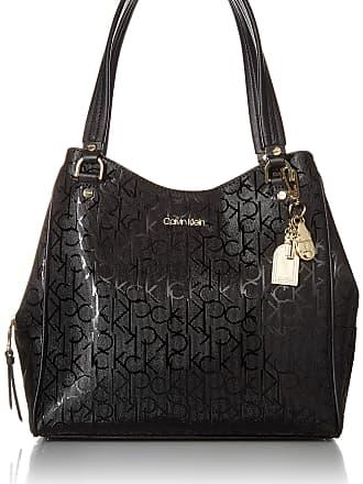 Calvin Klein Womens Monica Hobo, Black/Black, One Size