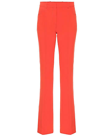 Victoria Beckham Exclusive to Mytheresa - mid-rise flared wool-blend pants