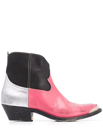 Golden Goose Ankle boot bico fino - Preto