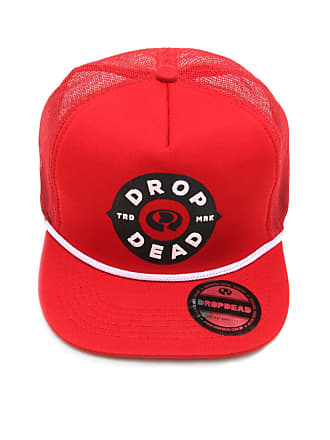 Drop Dead Boné Drop Dead Trucker Rangers Vermelho a2148e28a55
