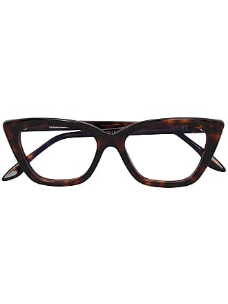 Cutler and Gross Cat eye glasses - Brown