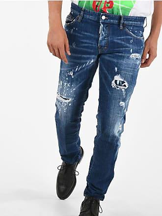 Dsquared2 17cm Distressed SLIM Jeans size 46