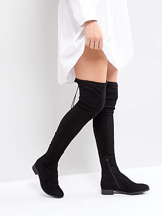 a3a876eb6394 Asos Tall ASOS KEEP UP TALL Flat Over The Knee Boots