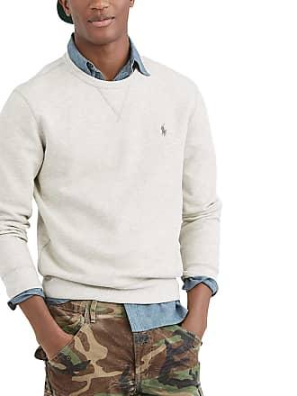 Polo Ralph Lauren Sweat col rond logo Gris Polo Ralph Lauren 832774ba540f