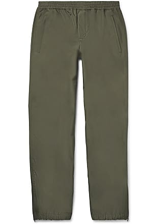 fc86045a2 Helmut Lang Tapered Recycled Shell Track Pants - Army green