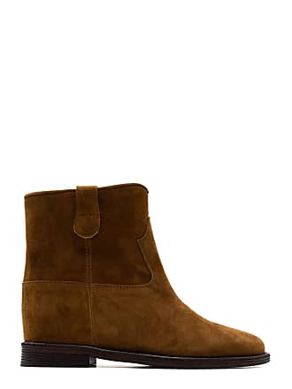 b39e26260f Via Roma 15 WOMENS 1655CUOIO BROWN SUEDE ANKLE BOOTS