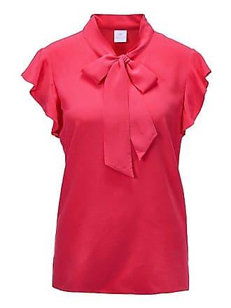 Madeleine Seide Seidenbluse mit Schluppe Damen korallenpink   pink bbc0801379