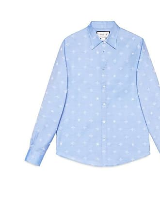 d705860e5 Gucci Bee jacquard oxford Duke shirt