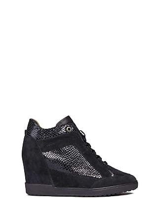 25bac547574 Geox Womens D Carum C Low-Top Sneakers, (Black C9999), 5