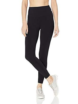 Maaji Womens Dazzling Mid Rise 7/8th Length Legging, Space Dye Black, Medium